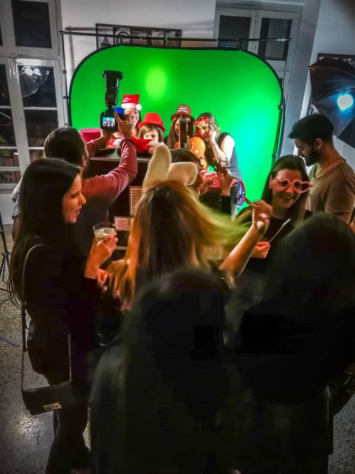 athens green screen photobooth