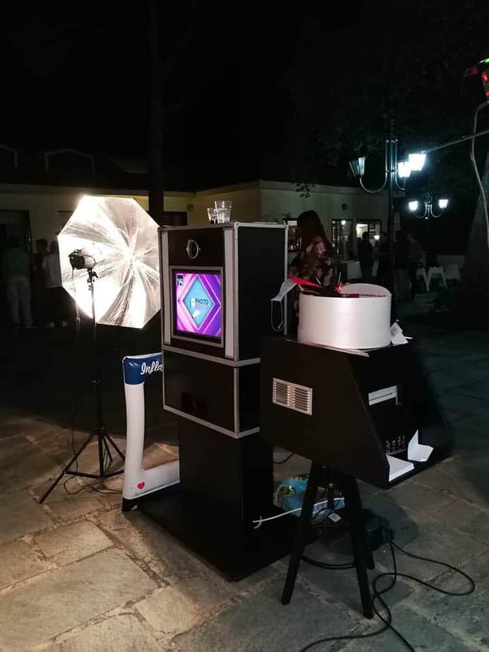 Ενοικίαση Classic black Photobooth σε παιδικό πάρτι στο Ψυχικό