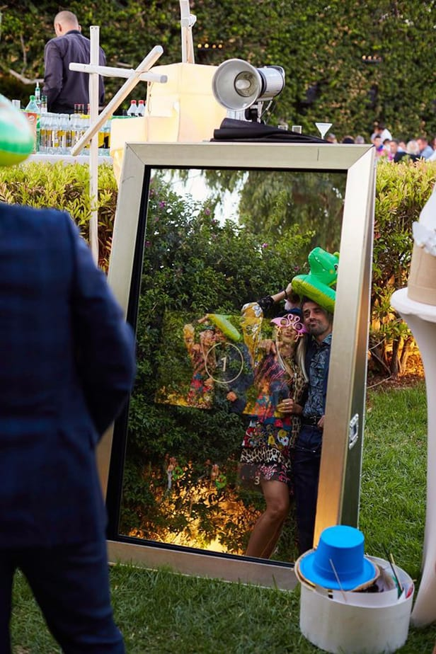 Mirror booth Ενοικίαση τιμη