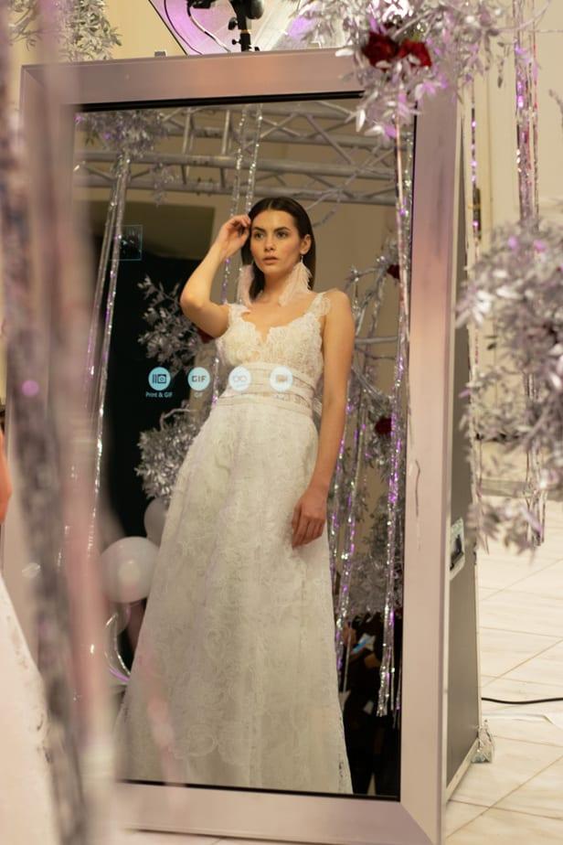 Mirror Photo booth για γάμο